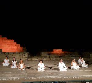 """""""Deus ex machina"""" regia Stefano Molica, Teatro Antico di Tindari"""